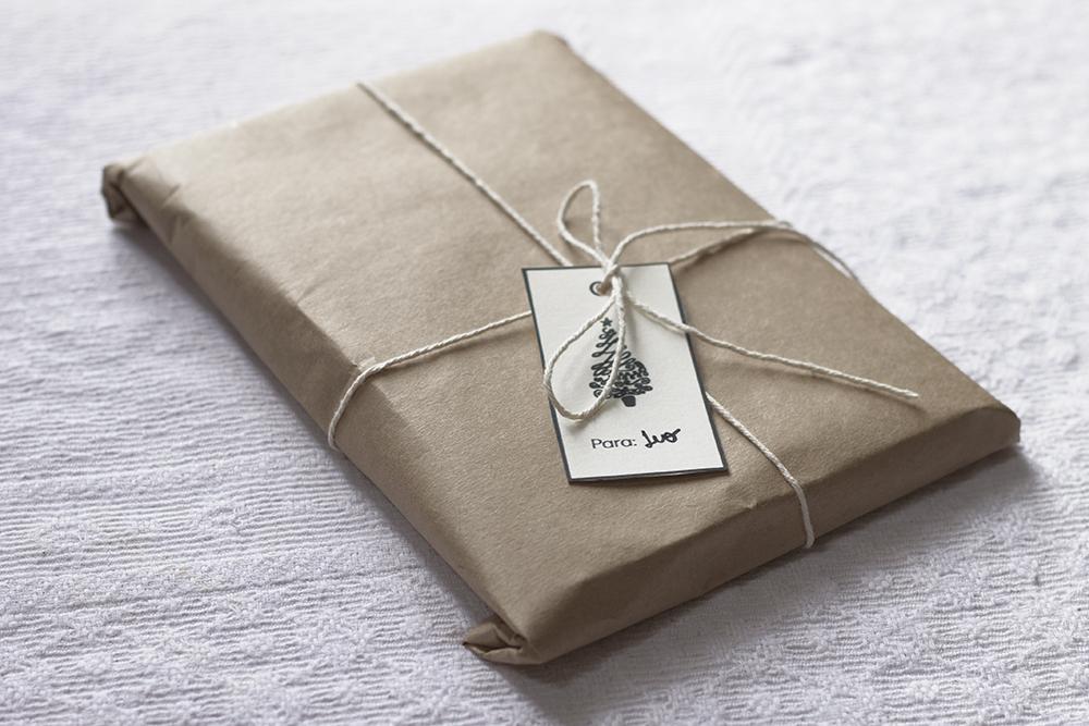 reciclando presentes de natal